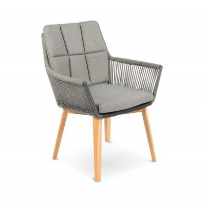 Tierra Lois rope chair teak
