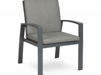 Tierra Valencia dining chair charcoal