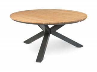 Tierra orbital dining table teak 120 cm