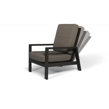 Tierra Queens lounge stoel charcoal