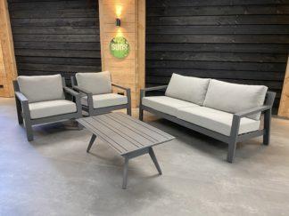 Barola stoel-bank loungeset 4-delig