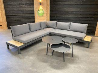 Enzo redondo aluminium loungeset